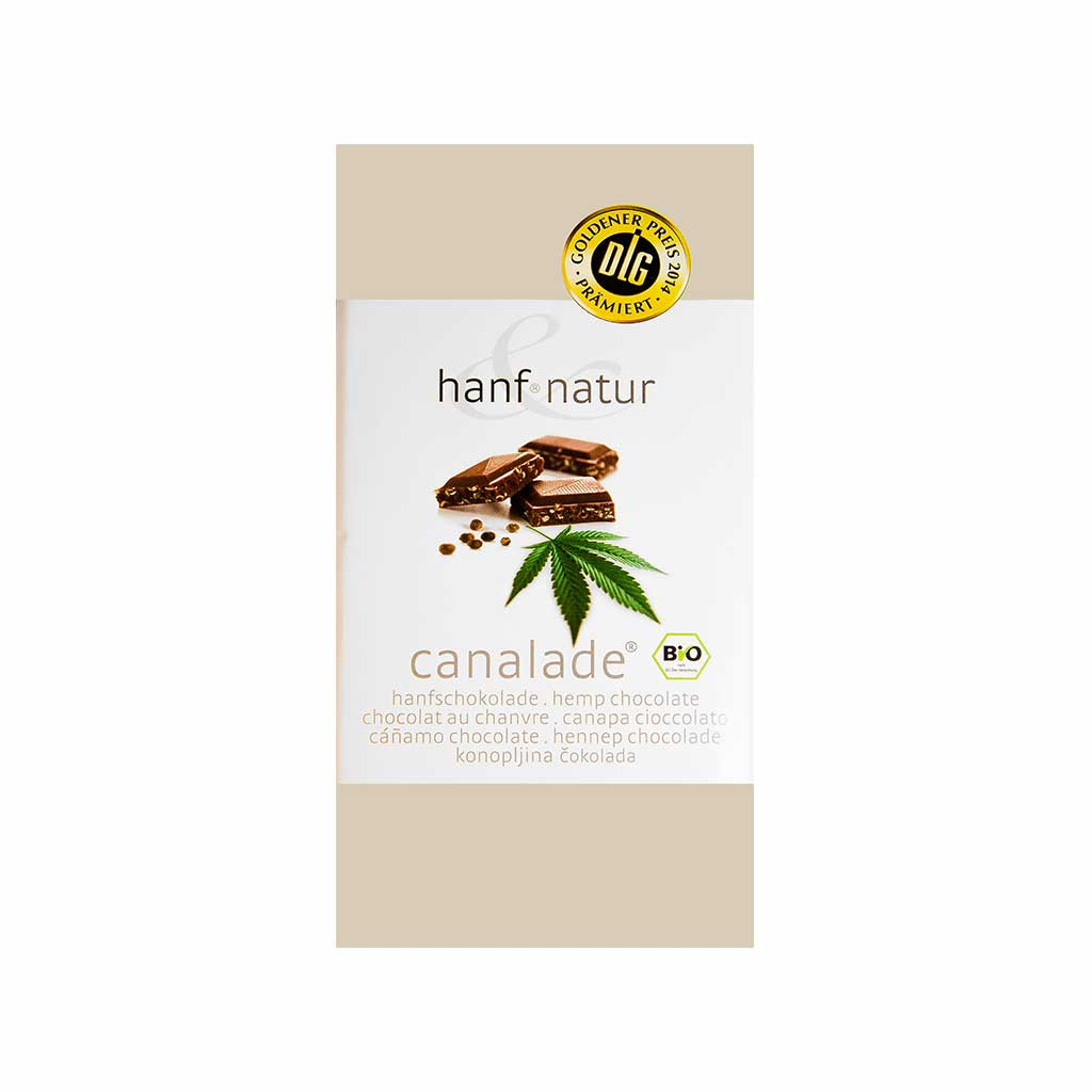 Canalade Bio Organic Hemp Milk Chocolate
