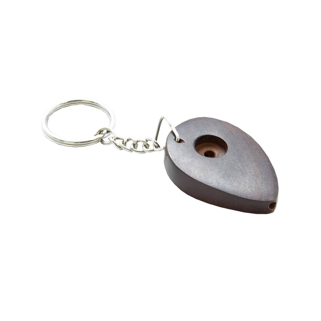 Key Chain Wooden Pipe 3